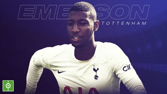 Emerson Royal has signed for Tottenham. BeSoccer