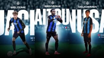 Tripla contratação no Brugge. ClubBrugge