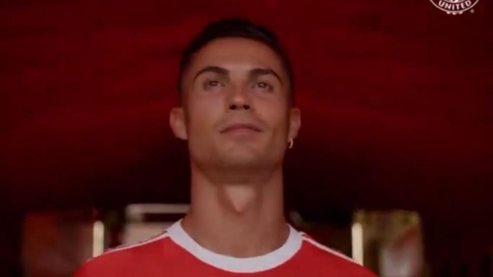 Ronaldo est prêt à tout casser avec Manchester United. Capture/ManUtd