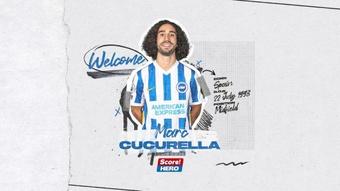 Cucurella has left La Liga and joined Brighton. Twitter/OfficialBHAFC
