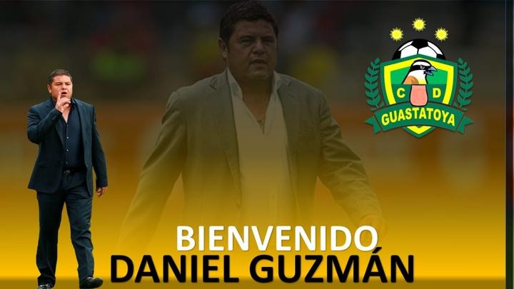 Daniel Guzmán será el nuevo entrenador de Guastatoya de Guatemala. Captura/CD_Guastatoya