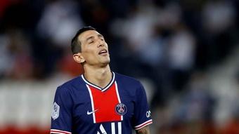 Angel Di Maria suspendu trois matchs en Ligue des champions. efe