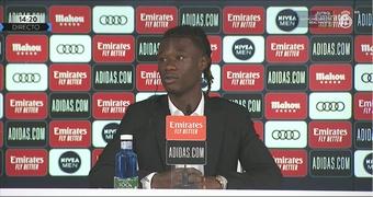 Camavinga in conferenza stampa. RealMadridTV