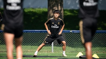 Le Real Madrid pense à faire prolonger Kubo. EFE