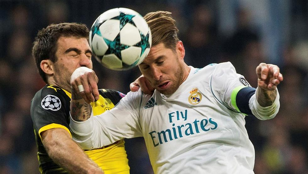 Real Madrid-Borussia Dortmund por la Champions League: horario, TV y formaciones