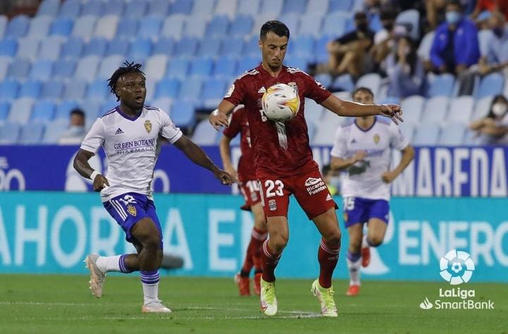 El Zaragoza-Cartagena fue el último encuentro de la tercera jornada. LaLiga