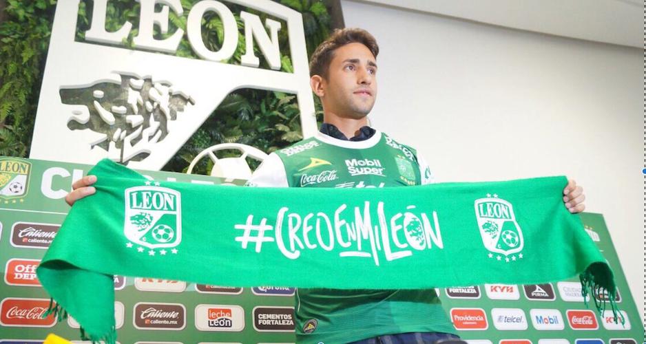Emanuel Cecchini es presentado con León