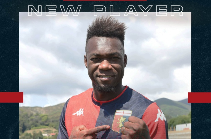 Felipe Caicedo é o novo jogador do Genoa. Captura/GenoaCFC