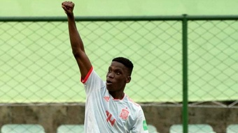 Ilaix Moriba will end up playing for RB Leipzig. EFE