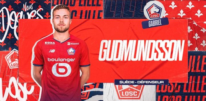 Gudmundsson, al Lille. Lille