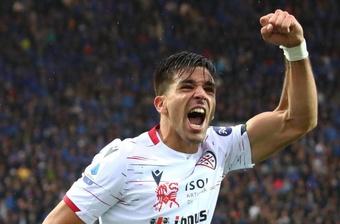 Il Cholito Simeone in prestito al Verona. EFE