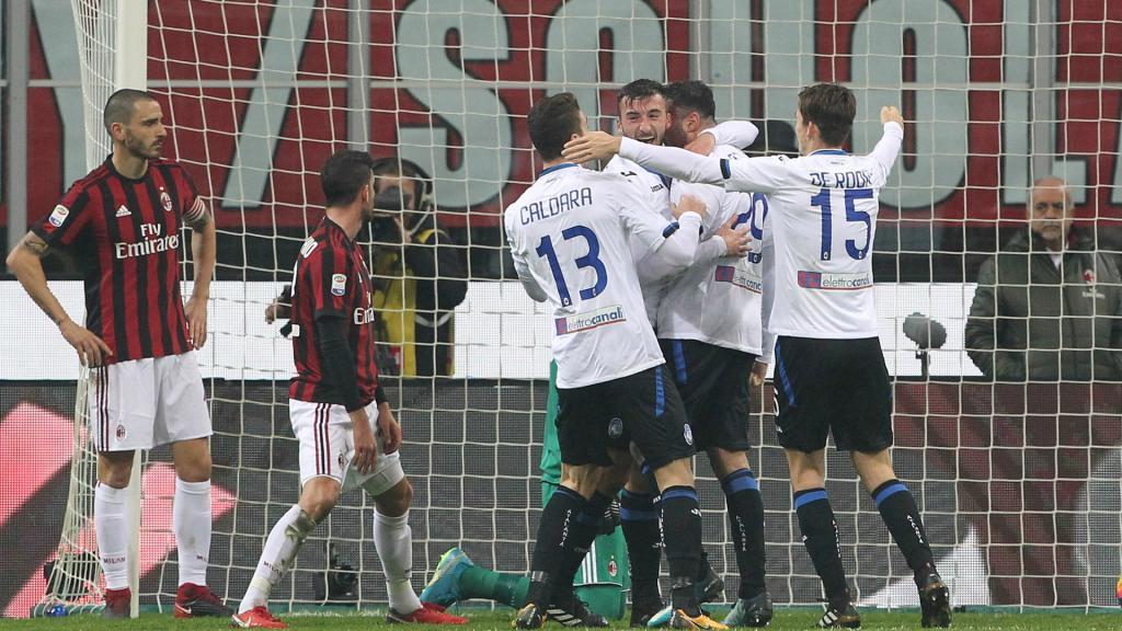L'AC Milan déçoit encore face à l'Atalanta