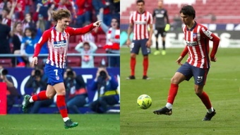 Griezmann and Joao Felix could be an ideal partnership. EFE