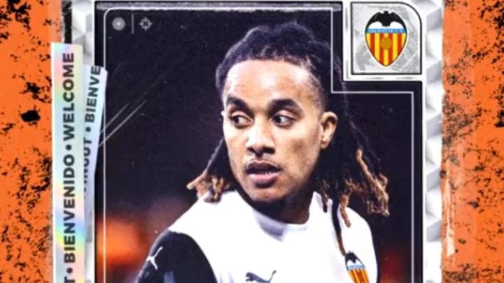 Officiel : Valence recrute Hélder Costa. Captura/ValenciaCF