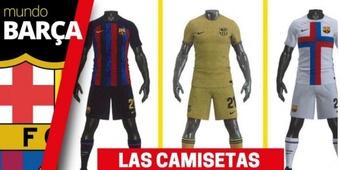 Les nouveaux maillot du Barça pour la saison 2022-2023. Mundo Deportivo