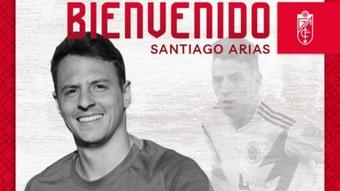 Arias defenderá los colores del Granada esta temporada. GranadaCF