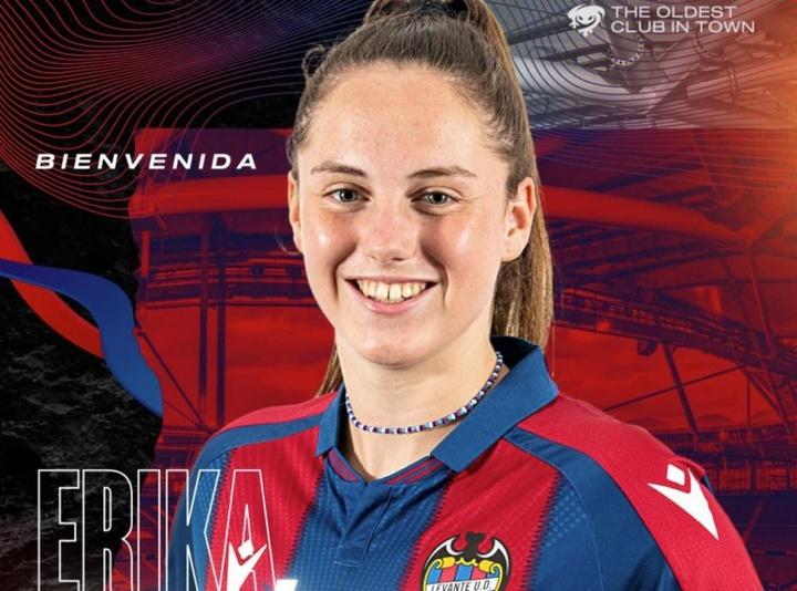 Érika González ha firmado hasta 2024. LevanteUD
