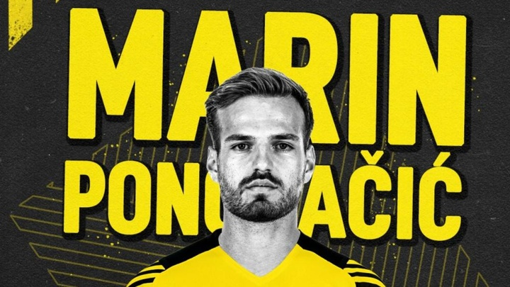 Marin Pongracic llega cedido al Borussia Dortmund. Twitter/BlackYellow