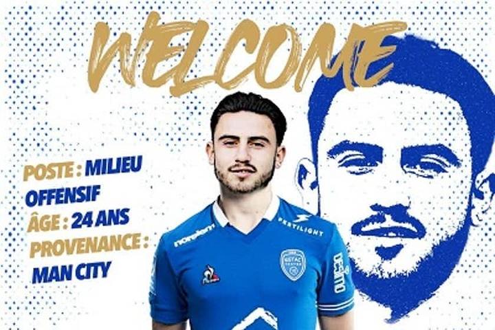 El Troyes anunció a cuatro nuevas caras. Twitter/estac_officiel