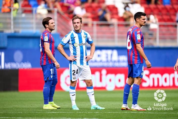El Eibar y el Leganés empataron a uno. LaLiga