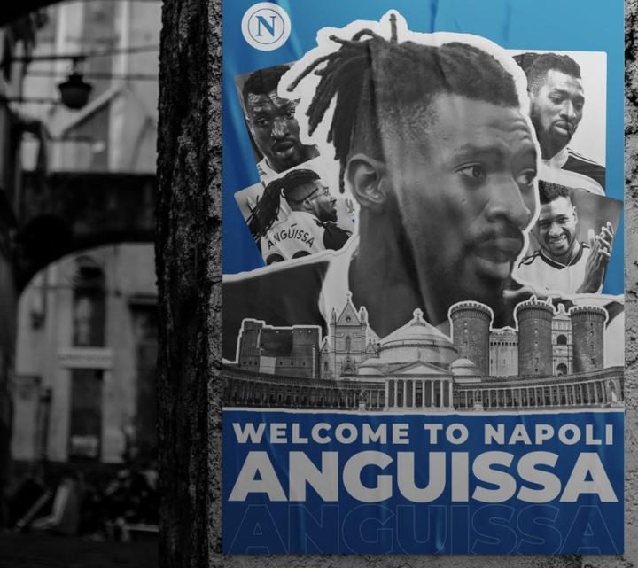 Napoli obtém o empréstimo de Zambo Anguissa. Twitter/sscnapoli