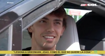 Joao Félix a défendu Griezmann. Goal