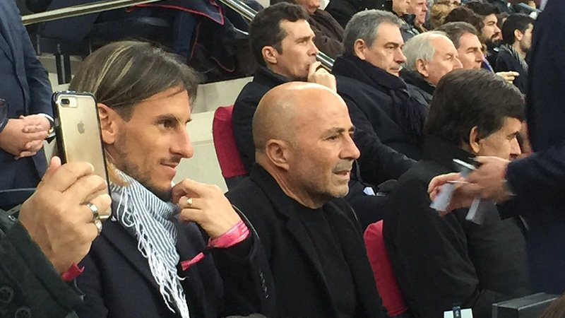 Tras reunirse con Mascherano, así sigue la gira de Sampaoli por Europa