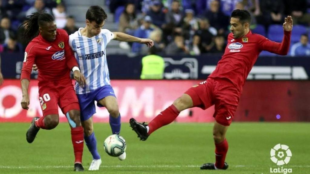 Málaga-Fuenlabrada 2019-20