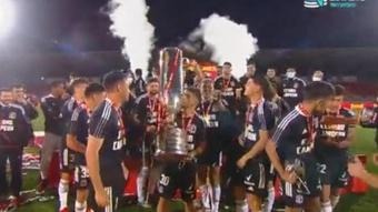 Por segundo año consecutivo, Colo-Colo se alzó con la Copa Chile. Captura/TNTSportsCL