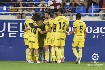 El Oviedo se encomienda a sus delanteros y asalta El Alcoraz