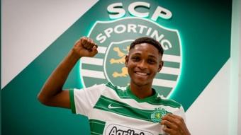 Sporting garante Lamarana Jallow.Twitter/Sportinf_CP