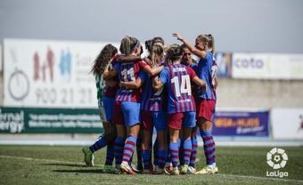 El Barça ganó 0-5. LaLiga