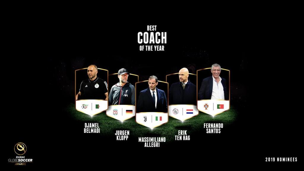 Globe Soccer Awards 2019 mejor entrenador