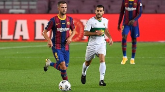 Pjanic presente nella lista UEFA. AFP