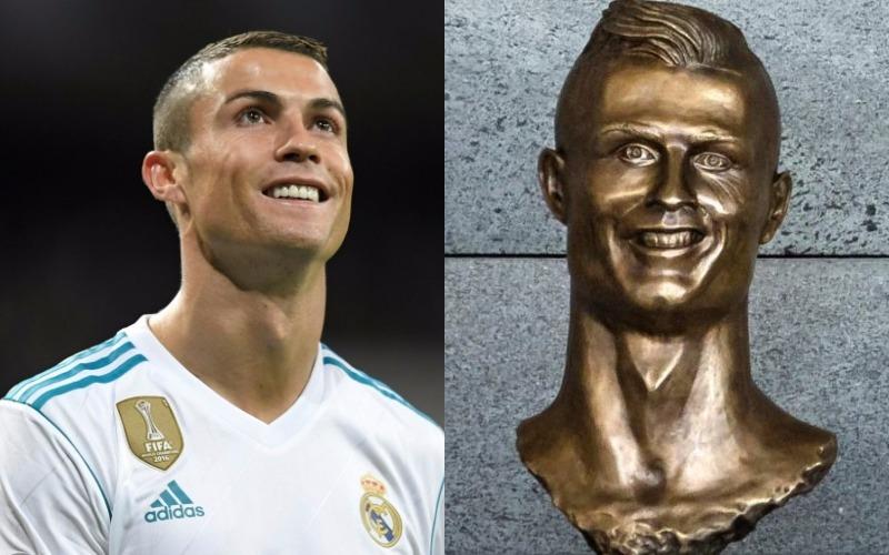 Así es el nuevo busto que le han hecho a Cristiano Ronaldo