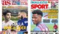 As capas da imprensa de 19 de setembro de 2021. Montagem/AS/Sport