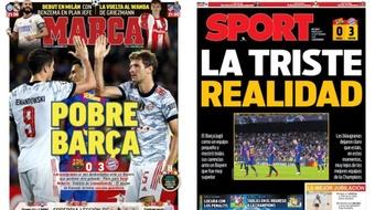 Capas da imprensa desportiva 15 de setembro 2021.Marca/Sport