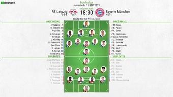 Sigue el directo del RB Leipzig-Bayern de Múnich. BeSoccer
