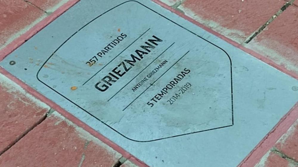 División de opiniones por Griezmann. AlfredoGarcía