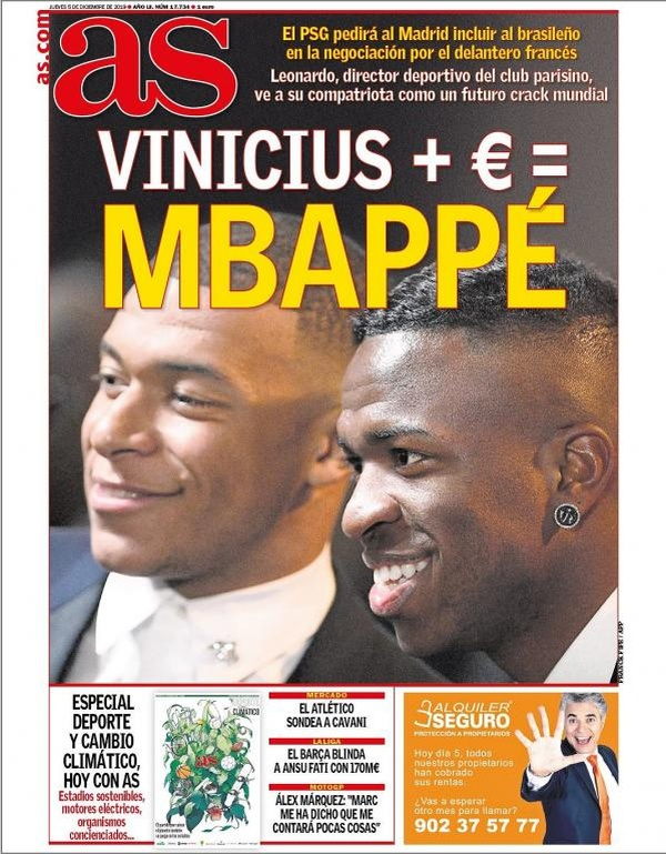 ¿Y si el Madrid tiene en casa la llave para ver a Mbappé de blanco?