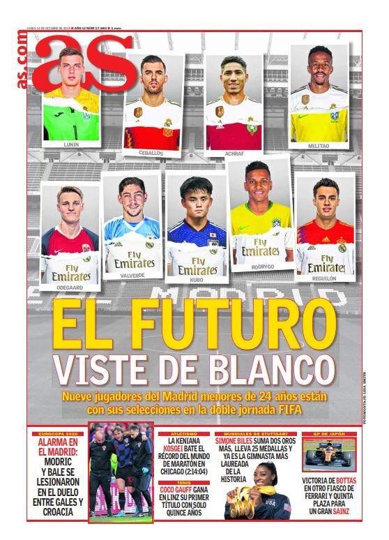 El Madrid se asegura el futuro