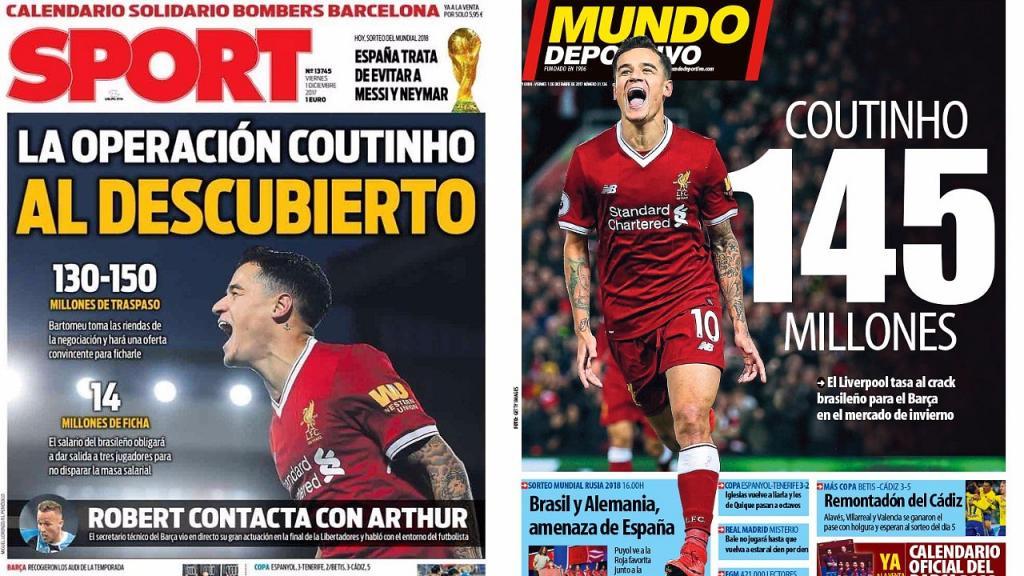 Liverpool pourrait accepter plusieurs paiements de la part du Barça pour Coutinho