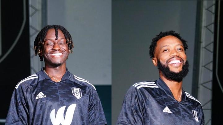 Dois reforços que chegaram no Fulham. FulhamFC