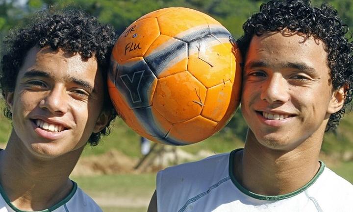Rafael and Fabio Da Silva played with Cristiano at United. AFP