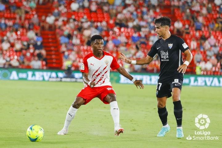 El Almería venció por 2-0 al Málaga en la cuarta fecha liguera. LaLiga
