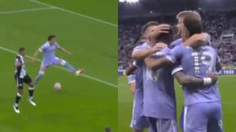 El inteligente gol del Leeds: centró Raphinha y Rodrigo dejó pasar