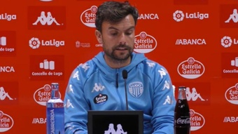 Rubén Albés espera conseguir la primera victoria a domicilio. Captura/CDeportivoLugo