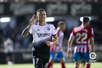Rubén Castro hizo un doblete al Lugo. LaLiga