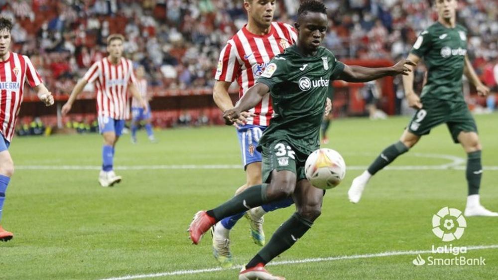 Seydouba Cissé debutó en partido oficial con el Leganés en Segunda. LaLiga