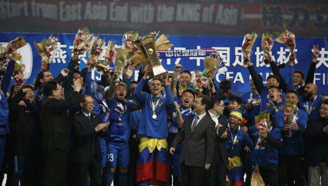 Mientras Tevez prepara su vuelta a Boca, el Shenhua se consagró campeón